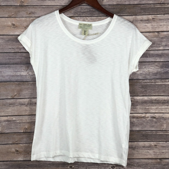 500/Denim Maison Cinqcent White T Shirt S